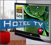 Hotel TV Ger�te von Multimedia Display