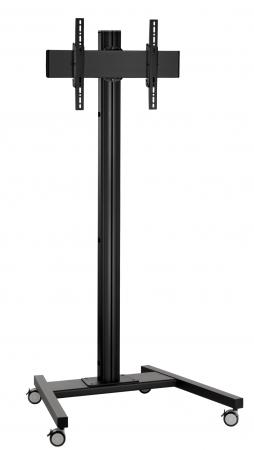 Vogels T1844B Displaywagen 180cm für bis zu 65 Zoll Displays
