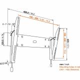 Vogels Base 15 M neigbare Wandhalterung für 32-55 Zoll Monitore