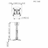 Vogels PPC 1540 Beamer Projektor Deckenhalter
