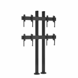Vogels FMVW 2255 Videowall Bodenbefestigung für 2x2 Monitore 46 - 55 Zoll