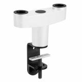 Vogels PFA 9125 Weiß Dual Adapter für Schreibtischhalterung
