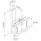 Vogels PFW 3220 Wandhalter für Plasma LCD Monitore